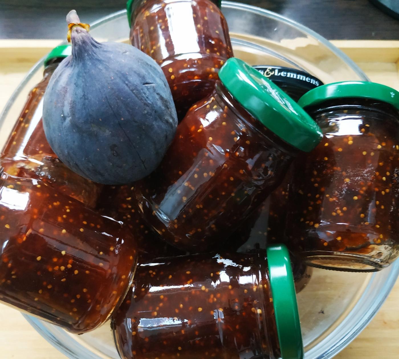 Confiture de figue maison - blog de pâtisserie