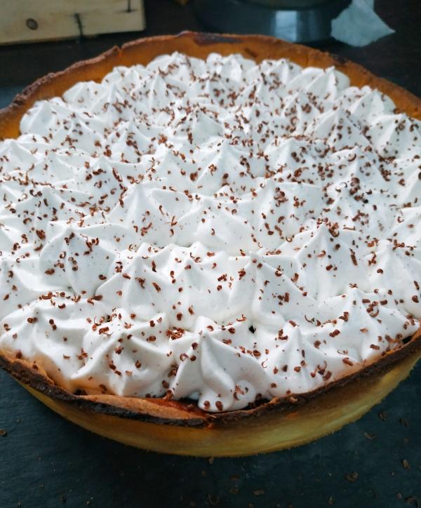 Flan au chocolat et chantilly vanille - Blog de pâtisserie à suivre en 2021