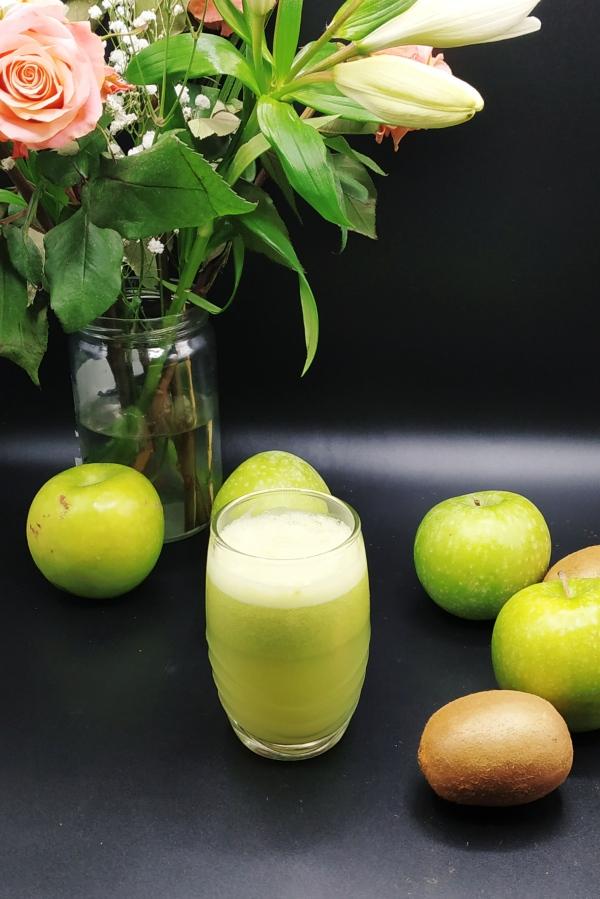 Un bon jus vert detox pour faire le plein de vitamines avant l'arrivée du printemps
